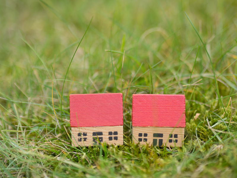 The process of rezoning or subdividing
