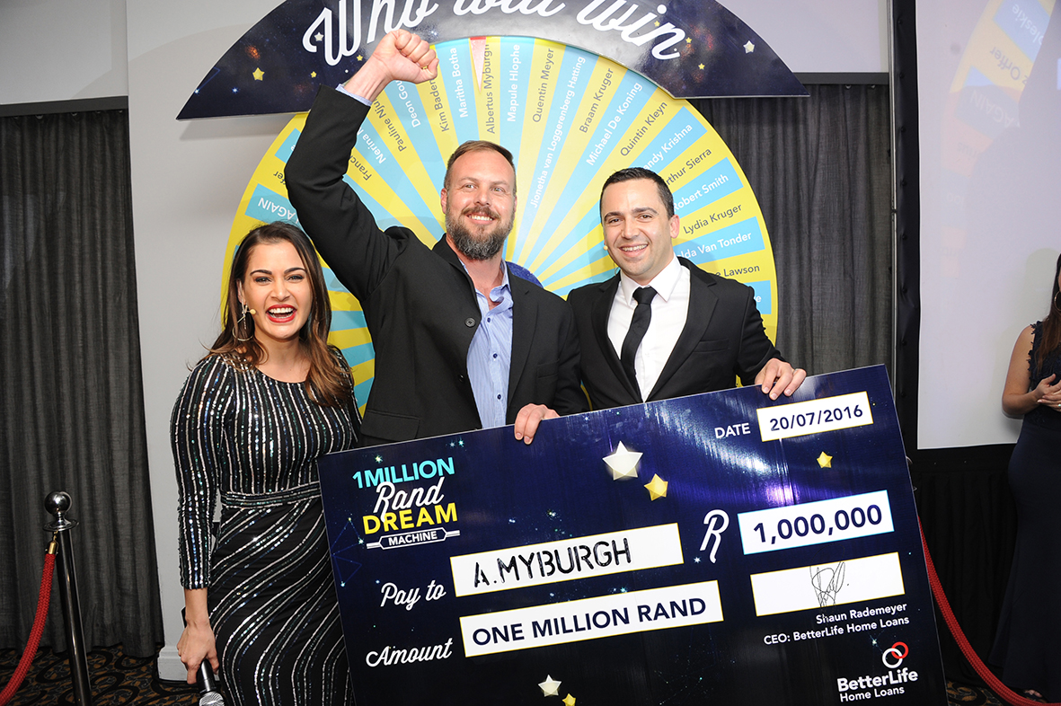 REMAX agent wins BetterLife Dream Lottery