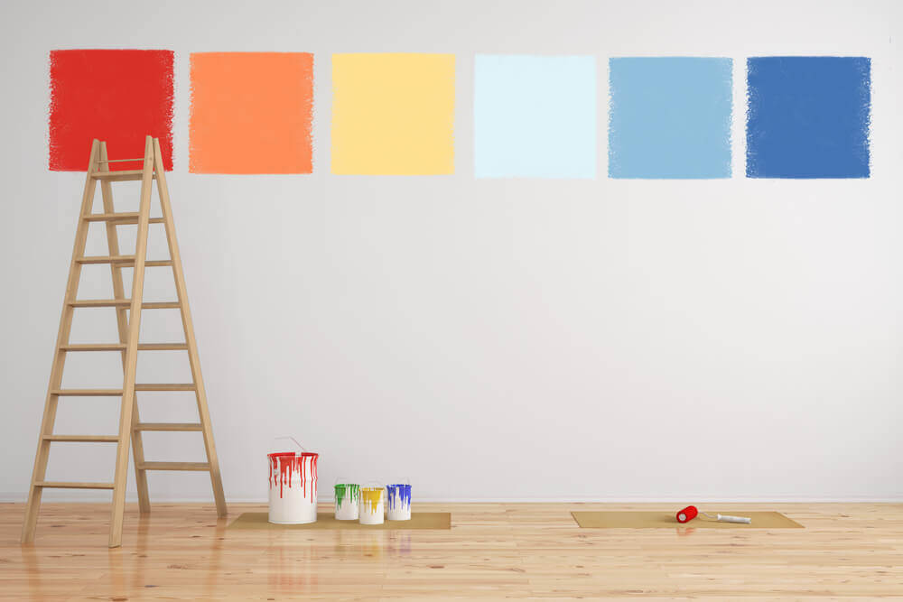 Paint and prepare before you move in