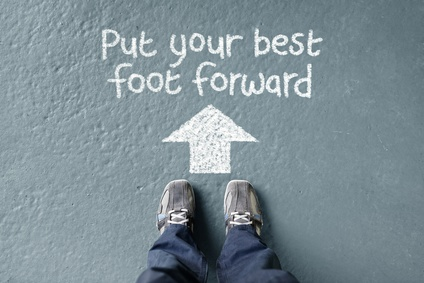 Start with your best foot forward